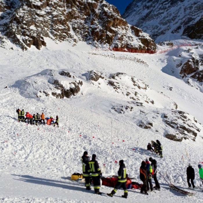 4 Deutsche sterben bei Lawinenabgang in Südtirol und Schweiz (Foto)