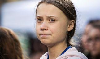 Händler verkaufen Merchandise in Greta Thunbergs Namen. (Foto)