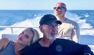 """Mit Evelyn Burdecki reist Robert McCarron in seiner Sendung """"Dr. Bob's Australien"""" durch Down Under. (Foto)"""