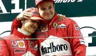 Michael Schumacher und Rubens Barrichello (Foto)