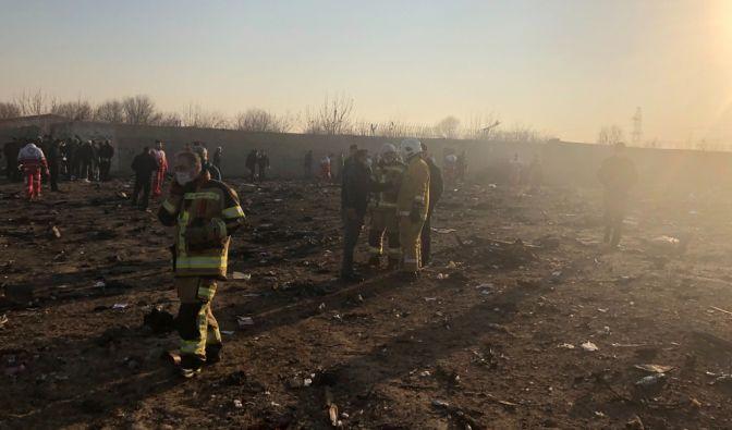 Flugzeugabsturz bei Teheran im News-Ticker