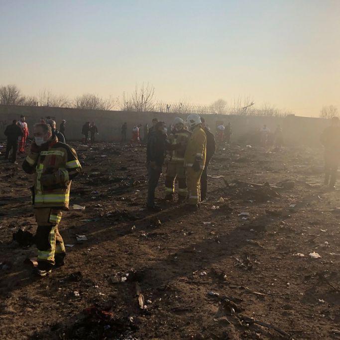 Flugzeug vom Iran abgeschossen! Deutsche unter Todesopfern (Foto)