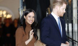 Meghan und Harry wollen ihre royalen Pflichten zurücklassen. (Foto)