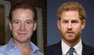 Die Gerüchte wollen nicht verstummen, dass Prinz Harry der leibliche Sohn von Prinzessin Dianas Ex-Affäre James Hewitt ist. (Foto)