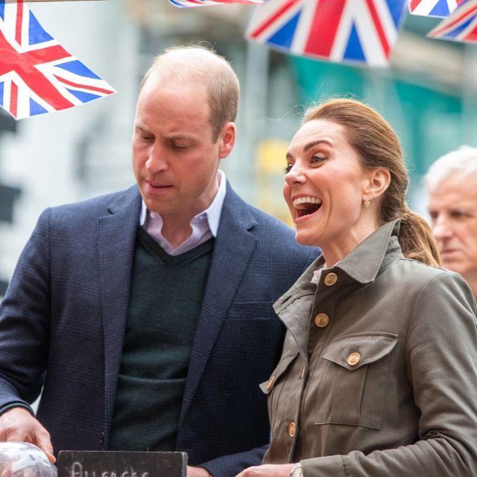 Herzogin Kate als lachende Siegerin - doch Prinz William tobt vor Wut! (Foto)