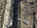Flugzeug-Absturz nahe Teheran