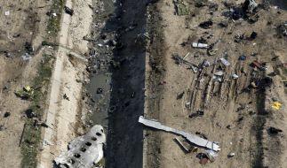 Der Iran gesteht, dass das ukrainische Flugzeug vom Militär abgeschossen wurde. (Foto)