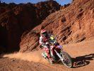 Der portugiesische Motorradpilot Paulo Goncalves, hier bei der Rallye Dakar 2016, ist bei dem Wüstenrennen tödlich verunglückt. (Foto)
