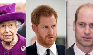 Queen ELizabeth II. bittet zum Megxit-Krisentreffen mit Prinz Harry, Prinz William und Thronfolger Prinz Charles. (Foto)
