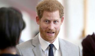 Prinz Harry hat bereits die ersten Jobangebote nach dem Megxit erhalten - wenn auch mit einem Augenzwinkern. (Foto)