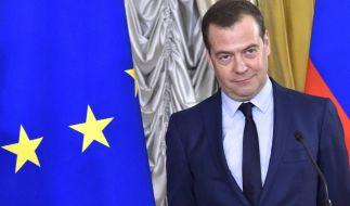 Dmitri Medwedew hat am Mittwoch seinen Rücktritt erklärt. (Foto)
