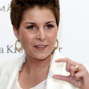 Vanessa Blumhagen zeigte sich im Leder-Look auf der Fashion Week in Berlin. (Foto)