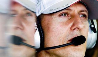 Michael Schumacher fuhr 2004 seinen siebten Formel-1-Weltmeistertitel ein - 15 Jahre später sorgte sein Sohn Mick Schumacher für einen Gänsehautmoment, der Erinnerungen wachrief. (Foto)