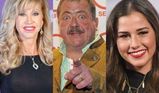 Carmen Geiss, Joseph Hannesschläger und Sarah Lombardi fanden sich diese Woche allesamt in den Promi-News wieder. (Foto)