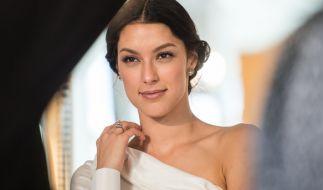 Rebecca Mir zeigte sich sexy beim Deutschen Filmball. (Foto)