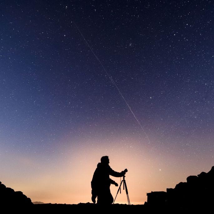 """Ufo-Alarm? DAS steckt hinter der mysteriösen """"Lichterkette"""" (Foto)"""