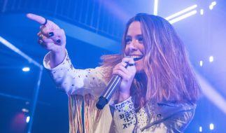 Vanessa Mai freut sich über ihr neues Album. (Foto)
