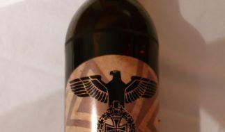 """In Bad Bibra wurde das """"Reichsbräu""""-Bier verkauft - die Polizei ermittelt. (Foto)"""