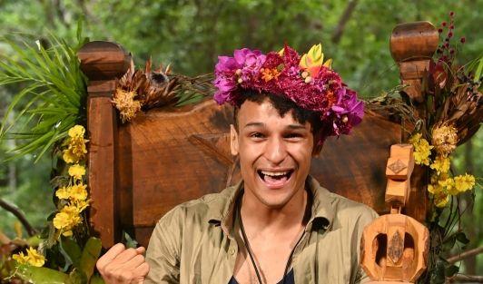 Prince Damien (29) hat das Sieger-Gen: Der schillernde DSDS-Star schnappte sich beim Dschungelcamp 2020 die Krone. (Foto)
