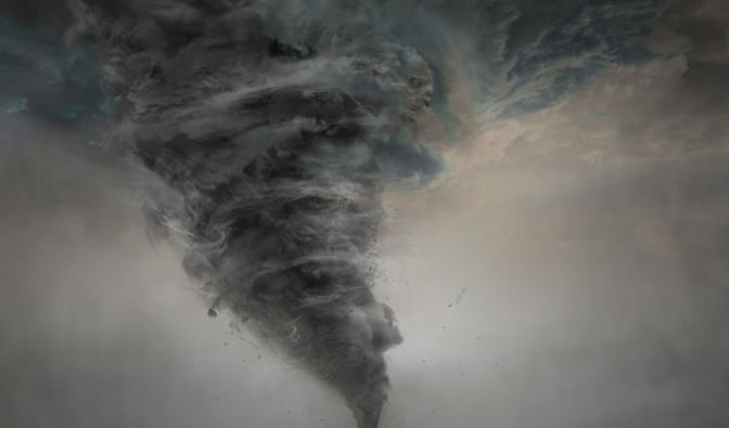 Unwetter im Januar 2020