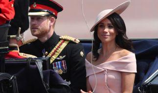 Prinz Harry und Herzogin Meghan erhielten eine fiese Drohung von Meghans Vater Thomas Markle. (Foto)