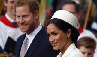 Prinz Harry und Herzogin Meghan werden in einer neuen US-Serie fies aufs Korn genommen. (Foto)