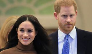 Der britische Prinz Harry und seine Frau, Herzogin Meghan, suchen einen neuen Job. (Foto)