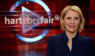 """Susan Link vertritt den erkrankten """"Hart aber fair""""-Moderator Frank Plasberg. (Foto)"""