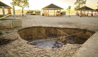 Ein Erdbeben der Stärke 7,7 hat die Karibik erschüttert. (Foto)