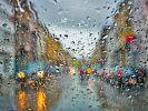 Am Wochenende wird es nass in Deutschland. (Foto)