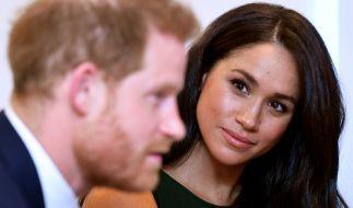 Über die Ehe von Meghan Markle und Prinz Harry wird wild spekuliert. (Foto)