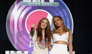 Shakira und Jennifer Lopez treten in der Halbzeit des Super Bowls 2020 auf. (Foto)