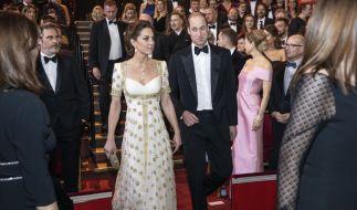 Kate Middleton und Prinz William wohnten den BAFTA-Awards 2020 als royale Ehrengäste bei. (Foto)