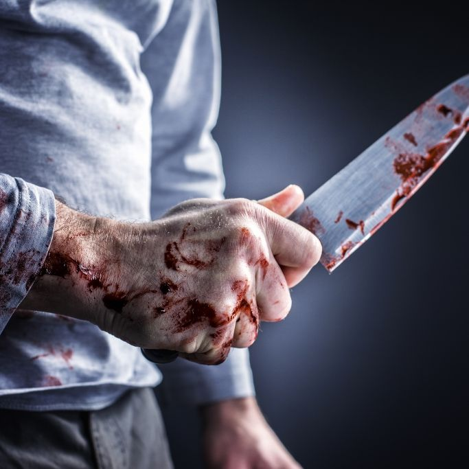 Terrorverdacht! Mann (19) mit Messer niedergeschossen (Foto)