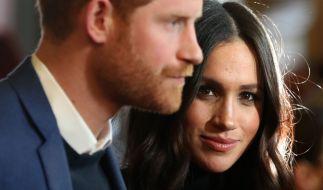 Meghan Markle und Prinz Harry wollten in die USA ziehen, aber dort schweben sie in Gefahr. (Foto)