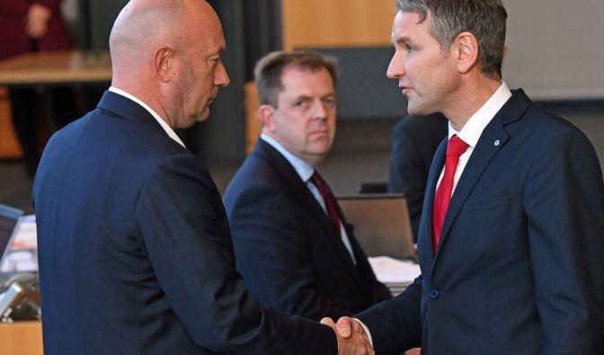 Ministerpräsidentenwahl in Thüringen 2020