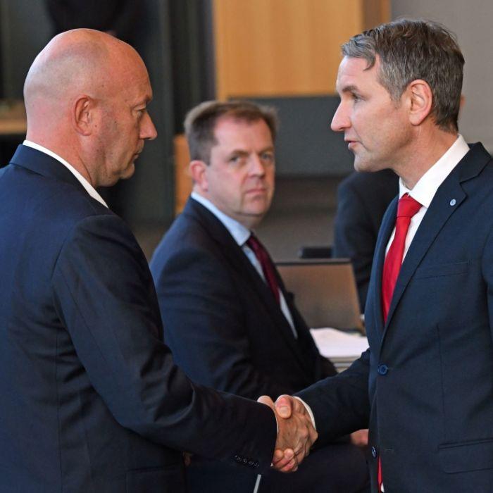 Landtagsauflösung nach Wahl-Skandal beantragt (Foto)