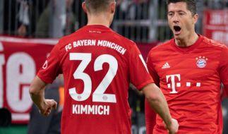 Der FC Bayern München steht im Viertelfinale des DFB-Pokals. (Foto)