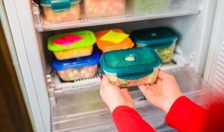 Plastikdosen sind nicht immer die richtige Wahl zum Einfrieren. (Foto)