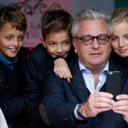 Prinz Laurent von Belgien ist stolzer Papa der Zwillingsjungs Aymeric und Nicolas sowie von Tochter Louise.