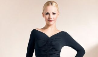Alona Uehlin istWeltmeistertitel im Showdance Standard. (Foto)