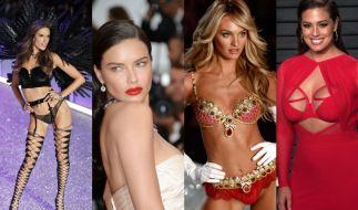Heiße Model-Mamas: Alessandra Ambrossio, Adriana Lima, Candice Swanepoel und Ashley Graham versexen das Internet. (Foto)