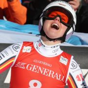 Rebensburg beim Super-G in Garmisch gestürzt,Corinne Suter siegt (Foto)