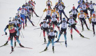 Die Biathlon-Weltmeisterschaft gastiert vom 13.02. bis zum 23.02.20 in Antholz. (Foto)