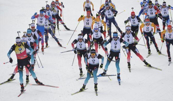 Biathlon-WM 2020 Ergebnisse aus Antholz