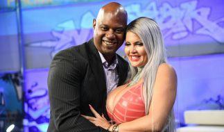 Sophia Vegas mit ihrem Ehemann Daniel Charlier. (Foto)