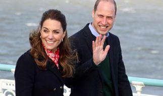 Kate Middleton und Prinz William besuchen die vom Buschfeuer zerstörten Gebiete in Australien. (Foto)