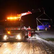 Schlidderpartie auf Autobahnen fordern etliche Verletzte (Foto)