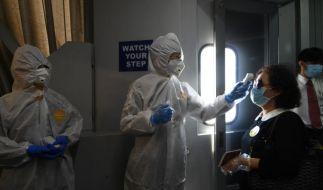 Trotz beispielloser Maßnahmen verbreitet sich das Coronavirus in China immer weiter (Foto)