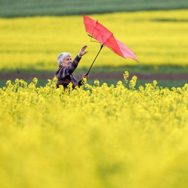 """Mild wie im Frühling - doch Sturmtief """"Victoria"""" bringt Regen und Sturm! (Foto)"""